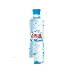 Вода минеральная негазированная Святой Источник (0.5л, 12 шт. в упаковке)