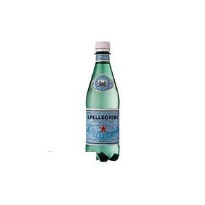 Вода минеральная газированная San Pellegrino (0,5л, ПЭТ, 6 шт/уп)
