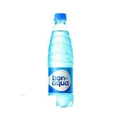 Вода питьевая газированная Bon Aqua (ПЭТ, 0,5л, 24шт/уп)