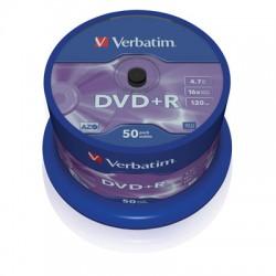 Носители информации Verbatim DVD+R43550