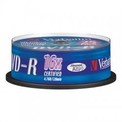 Носители информации Verbatim DVD-R43522