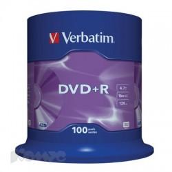 Носители информации Verbatim DVD+R43551
