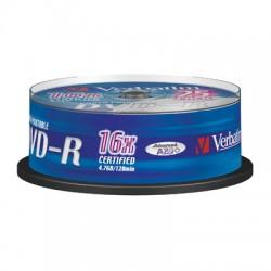 Носители информации Verbatim DVD-R43538 Print
