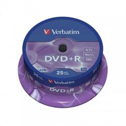 Носители информации Verbatim DVD+R43500