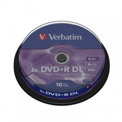 Носители информации Verbatim DVD+R Double Layer43666