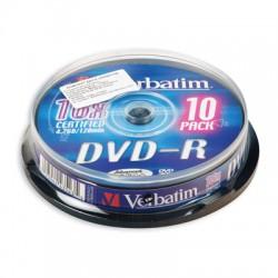 Носители информации Verbatim DVD-R43523