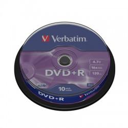 Носители информации Verbatim DVD+R43498