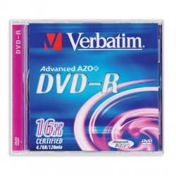 Носители информации Verbatim DVD-R43519