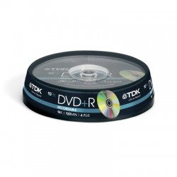 Носители информации TDK DVD+R 4,7 GB 16x CB/10