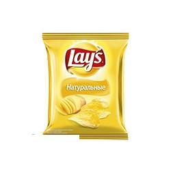 Чипсы Lays золотистые натуральные 80г.