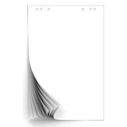 Бумага для флипчартов Attache 67.5х98 см белая 10 листов (80 г/кв.м) Арт. 445519