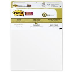 Бумага для флипчартов Post-it 63.5х76.2 см белая 30 листов (90 г/кв.м, 2 блока в упаковке) Арт. 62005