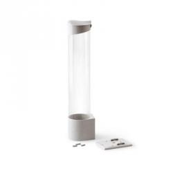 Держатель для стаканов на магните белый