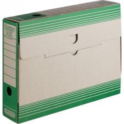 Короб архивный Attache картон зеленый 320x75x255 мм Арт. 390818