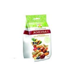 Смесь орехов и сухофруктов Золотая Жменька Коктейль (орехи, изюм, сухофрукт