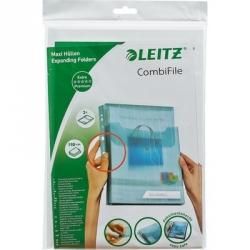 Файл-вкладыш Leitz А4 200 мкм гладкий прозрачный 3 штуки в упаковке Арт. 219370