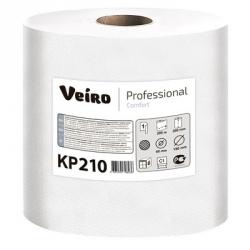 Полотенца бумажные в рулонах Veiro C1 Basic 1-слойные 6 рулонов по 200 метров