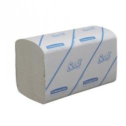 Полотенца бумажные листовые Kimberly-Clark Scott Perform S/Z-сложения 1-слойные 15 пачек по 212 листов