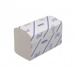 Полотенца бумажные листовые Kimberly-Clark Scott Interfold Z-сложения 1-слойные 15 пачек по 320 листов