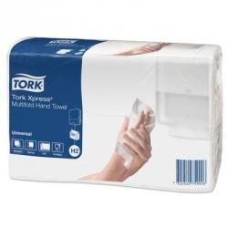 Полотенца бумажные листовые Tork Universal H2 471103 Z-сложения 2-слойные 20 пачек по 190 листов