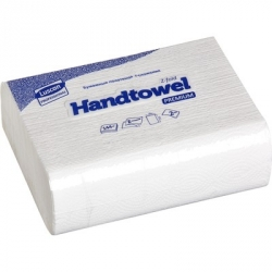 Полотенца бумажные листовые Luscan Professional Z-сложения 2-слойные 20 пачек по 144 листа