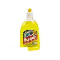 """Жидкость для мытья посуды """"Минута"""", лимонная отдушка (0,5л)"""