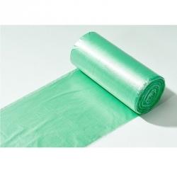 Мешки для мусора ароматизированные Березовый Фреш на 30 литров зеленые (12 мкм 30 штук в рулоне 50х60 см)