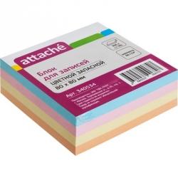Блок-кубик запасной Attache цветной (300 листов)