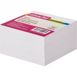 Блок-кубик Attache на склейке ( 9 х 9 х 5, белый блок)
