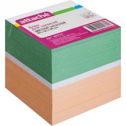 Блок-кубик запасной Attache (9 x 9 x 9, цветной)