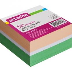 Блок-кубик запасной Attache (9 x 9 x 5, цветной)