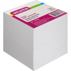 Блок-кубик запасной Attache (9 х 9 х 9, белый)