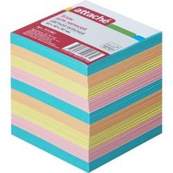 Блок-кубик Attache запасной (9 х 9 х 9, разноцветный)