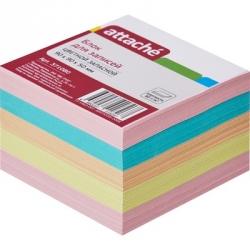 Блок-кубик Attache запасной (9 х 9 х 5, разноцветный)