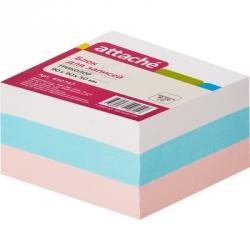 Блок-кубик Attache запасной (9 х 9 х 5, триколор)