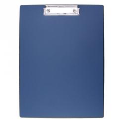 Папка-планшет Attache пластиковая синяя (1.5 мм)