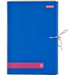 Папка архивная c 2 завязками A4 Attache (3 см, картон ламинированный)