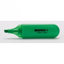 Текстовыделитель Kores зеленый (толщина линии1-5 мм)