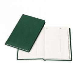 Алфавитная книжка Attache Вива (А5, 130x200мм, кожзам, зеленый)