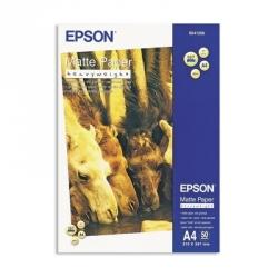 Бумага для струйной печати Epson S041256 (матовая, А4, 167г/м2, 50 листов)