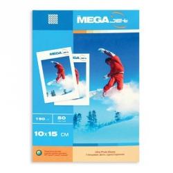 Фотобумага MEGA Jet Photo (10х15, 190г/м2, 50 листов)