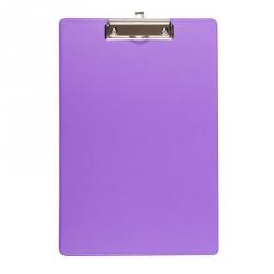 Папка-планшет Bantex картонная сиреневая (2.7 мм)