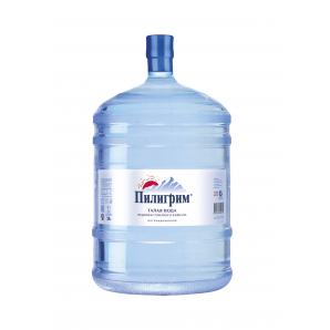 """Вода талая ледниковая """"Пилигрим"""" 19л в многооборотной таре"""