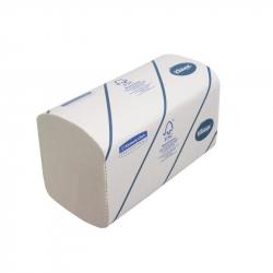 Полотенца бумажные листовые Kimberly-Clark Kleenex Interfold Z-сложения 2-слойные 15 пачек по 186 листов