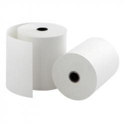 Чековая лента ProMega из офсетной бумаги 69 мм x 60 мм (диаметр втулки 12 мм, 10 штук в упаковке)