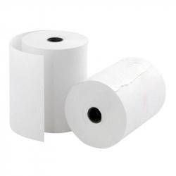 Чековая лента ProMega из офсетной бумаги 76 мм x 50 мм (диаметр втулки 12 мм, 12 штук в упаковке)