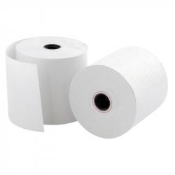 Чековая лента ProMega из офсетной бумаги 57 мм x 50 мм (диаметр втулки 12 мм, 16 штук в упаковке)