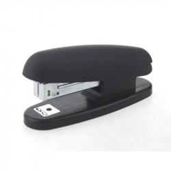 Степлер Attache Pantera до 10 листов черный (покрытие soft touch)