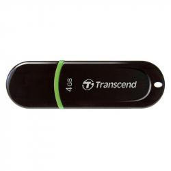 Флеш-память Transcend JetFlash 300 4Gb USB 2.0 черная