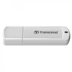 Флеш-память Transcend JetFlash 370 4Gb USB 2.0 белая